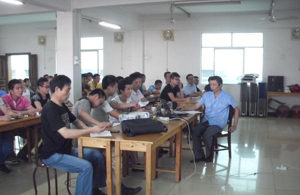 BAILIAN Compressor拥有员工压缩机技术理论学习活动2