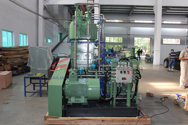 2-OIL FREE HYDROGNE COMPRESSOR WORKING SITE(2)
